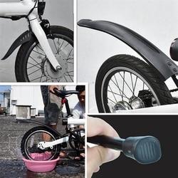 Opona rowerowa Splash przedni błotnik tylny stelaż półki dla Xiaomi Qicycle EF1 elektryczny akcesoria rowerowe w Błotniki od Sport i rozrywka na