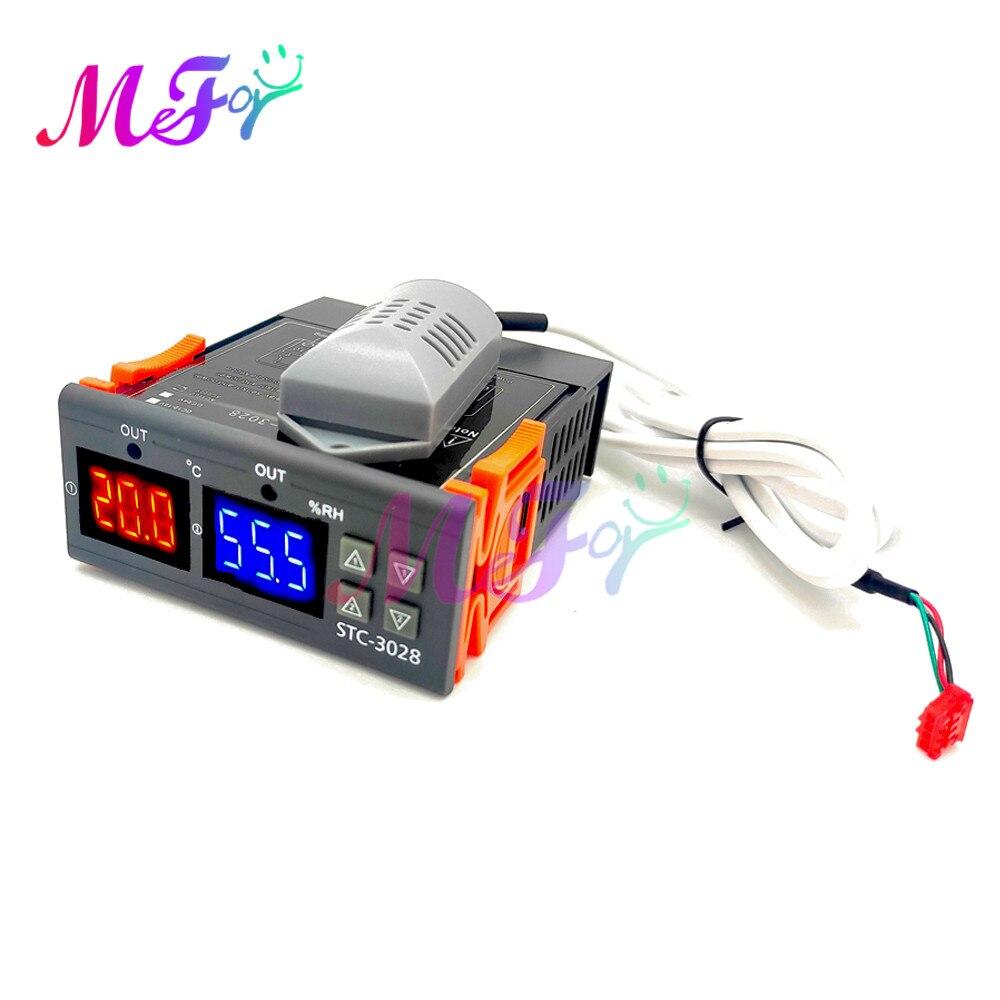 Цифровой термостат, устройство для контроля влажности и температуры