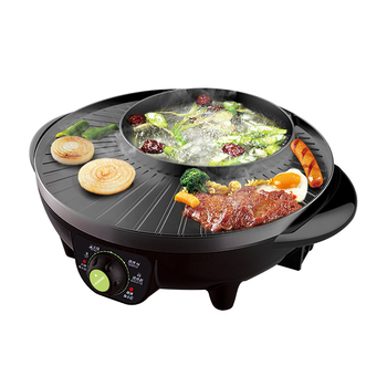 Electric Multi Cooker Dish Roast Integrated Purpose Hot Pot  Grill Oven Skillet As One Convenient Cooking Machineinstant pot