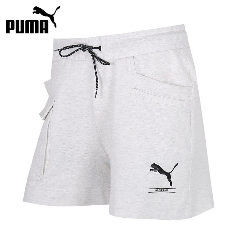 Novedad Original Pantalones Cortos Deportivos Para Mujer Puma Nu Tility 4 Pantalones Cortos Para Correr Aliexpress