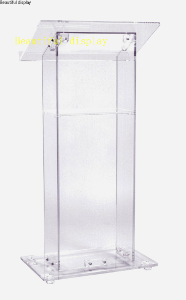 Free Shipping High Sell Cheap Clear Acrylic Lectern,acrylic Podium Church Podium