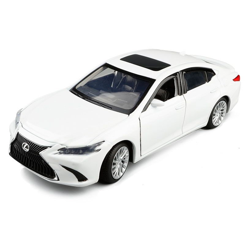 1/32 LEXUS ES300 Coupe Simulation Toy Vehicles Model Alloy  Children Toys Genuine License Collection Gift Off-Road Car Kids