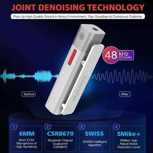 Image 3 - SabineTek SmartMike + Bluetooth Không Dây Lavalier Microphone Cho Máy DSLR Camera Điện Thoại Máy Tính Ve Áo Mic Vlogging Youtuber Ghi Âm