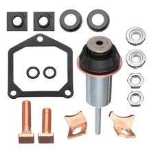 Denso стартер электромагнитный ремонтный Ремонтный комплект контакты части подходят для Toyota Subaru
