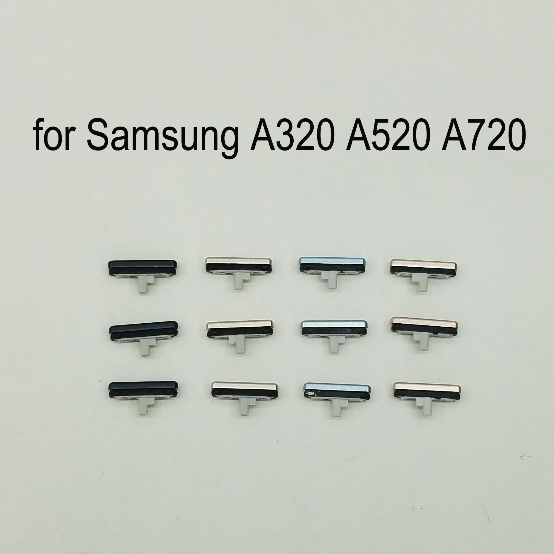 3pcs For Samsung Galaxy A3 A5 A7 2017 A320 A520 A720 Phone Housing Frame Volume Power Button Side Key