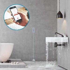 Image 4 - HEIMAN Zwave Smart Water Leakage Sensor Z wave Water overflow detector for Z wave smart home system,kitchen bathroom,pool