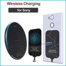 Qi Drahtlose Aufladen für Sony Xperia 1 5 8 10 L1 L2 L3 XZ1 Kompakte XA1 XA2 Plus Ultra Wireless ladegerät + Lade Empfänger
