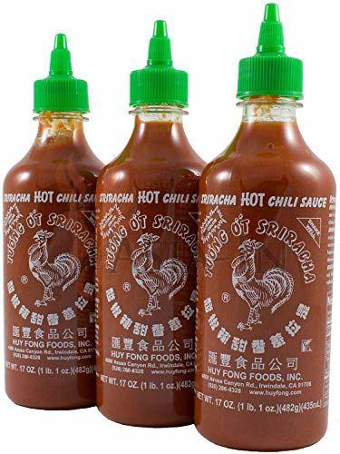 Huy Fong Foods Sriracha Hot Chili Sauce -- 17 Fl Oz