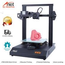 Anet impressoras 3d et4 pro reprap i3 impressora 3d com auto-nivelamento sensor suporte open source marlin