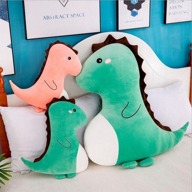 لطيف الكرتون ديناصور ألعاب من نسيج مخملي محشوة الحيوان الديناصور ألعاب الدمى وسائد فخمة ألعاب أطفال الفتيات هدية عيد ميلاد