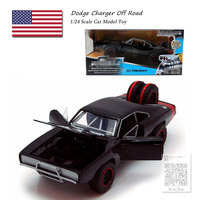 JADA 1/24 Scale Car Model Toys Dodge Charger R/T Diecast Metal Car Model Toy For Collection,Gift,Kids
