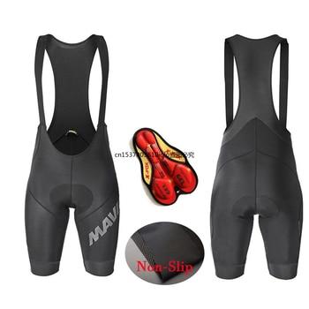 Mavic-pantalones cortos de Ciclismo para hombre, pantalones cortos con almohadilla de Gel...