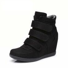 2019 yeni moda retro artış içinde bayan botları ilkbahar ve sonbahar sıcak satış kore versiyonu yüksek top rahat kadın ayakkabısı