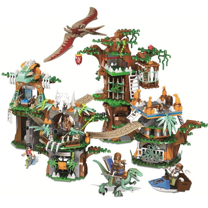 Briques de dinosaures du monde jurassique compatibles Legoing Jurassic World 75929 blocs de construction modèles garçons cadeaux jouets pour enfants