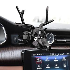Image 2 - Bez pudełka bez perfum fajny wzór w jelenie Bulldog odświeżacz powietrza odświeżacz do samochodu dobry zapach do dyfuzor samochodowy Auto aromation