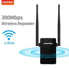 Comfast CF-WR302S wzmacniacz sygnału WiFi 300Mbps ue usa wzmacniacz sieci wzmacniacz sieciowy Extender 2 * 3dBi antena do wzmacniacza tanie tanio wireless 10 100 mbps 1x10 100 Mbps Brak 2 4g 300 mbps CF-WR302S Wifi repeater Wi-fi 802 11b Bezprzewodowy dostęp do internetu 802 11n