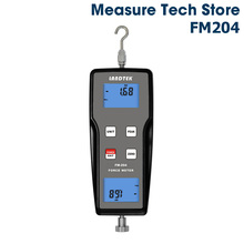 Landtek FM-204 Digital Force Gauge Dynamometer Push Pull Testing Machine 10N Tensiometer Measuring Meter Portable Tension Tester