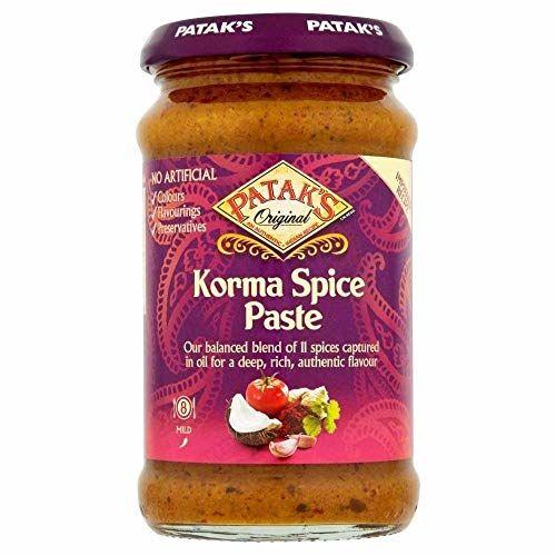 Patak's Korma Mild Curry Paste 290G
