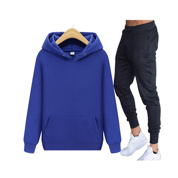 New 2020 Brand Tracksuit Fashion Men Sportswear Two Piece Sets All Cotton Fleece Thick hoodie+Pants Sporting Suit Male men s sets hoodie and pants sweatsuit male sportswear tracksuit men set 2019 brand sporting suit track sweat print alpha jackets