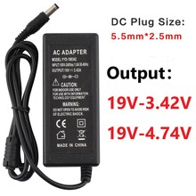 19V 3.42A Universal Power Supply Adapter 4.74A Laptop Charger AC Adapter Power Supply DC 19 V With EU Plug US Charger Notebook