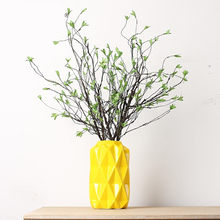 2pcs Large Artificial Dry tree branches Green Leaves Willow Branches Home Wedding Decoration Fake Flower DIY Table Plants 88cm