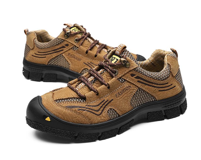 Cross-border cowhide men shoes outdoor