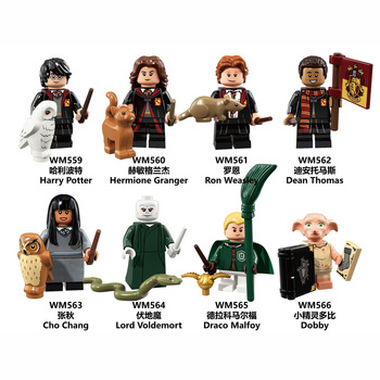 super heroes harry potter figure hermione draco malfoy ron weasley lord voldemort building blocks toys for children gift kf1031 Children Toys Magic Series Potter Cosplay Figures Hermione Luna Lord Voldemort Dumbledore Children Build Blocks Educational Toys