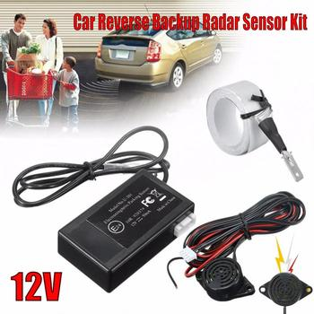 Car Auto Parktronic Parking Sensor 12V Electromagnetic Reverse Backup Car Parking Radar Monitor Detector System Radar Sensor Kit car reversing radar 12v with 4 parking sensor ultrasonic radar detection standby radar monitoring system reversing accessories