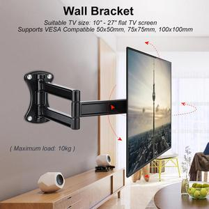 Image 3 - Wall Bracket Tilting Swivel Mount Stand Holder for 10 27 Inch Flat TV LED LCD Screen