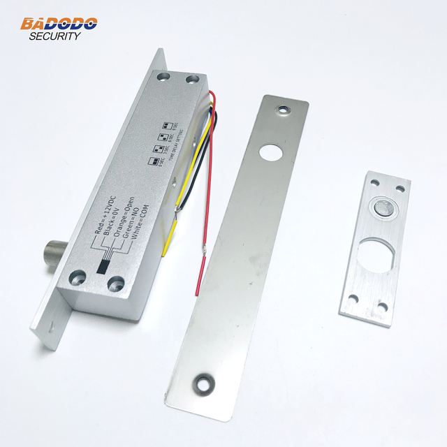 DC12V 5 קווים נמוך טמפרטורת בורג חשמלי נעילת fail בטוח או לא מאובטח עם זמן עיכוב