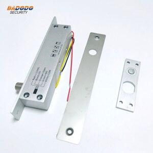 Image 1 - DC12V 5 خطوط درجة حرارة منخفضة مسمار كهربائي قفل فشل آمن أو فشل آمن مع تأخير الوقت