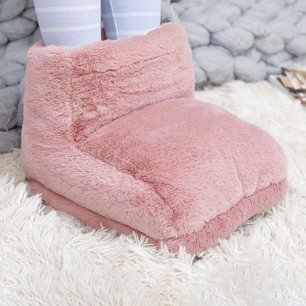 Pé aquecedor elétrico aquecedor de carregamento usb economia energia quente pé capa pés almofadas aquecimento para casa quarto dormir