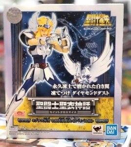 "Image 2 - Japan Anime ""Saint Seiya"" Original BANDAI SPIRITS Tamashii Nations Saint Cloth Myth Action Figure   Cygnus Hyoga Revival Edition"