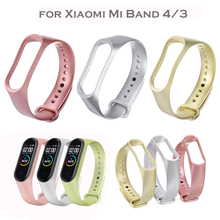 Silicone Wristbands Watch-Strap Xiaomi Bracelet-Accessories for Adjustable TPU Replacement