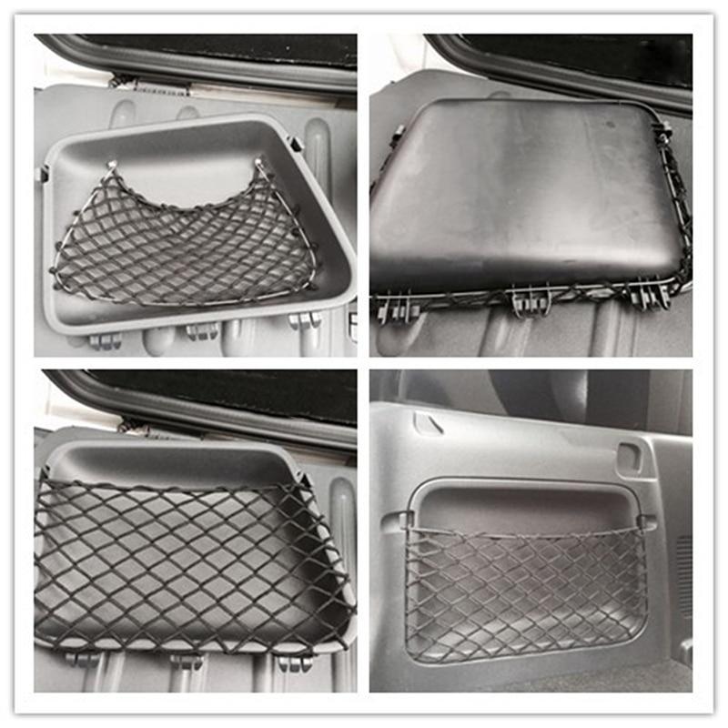 Car Organizer Storage Bag Auto Net Pocket Car Accessories For Mercedes Smart 451 Fortwo 2009-2014 Car Tuck Net