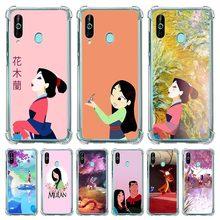 Cartoon Mulan Mushu Case For Samsung Galaxy A50