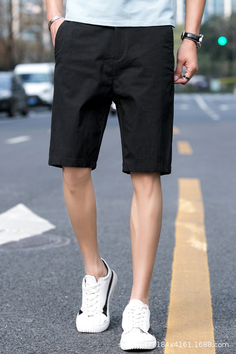 Summer Shorts Men In Pants Fashion Korean-style Casual Shorts Thin Summer Beach Large Trunks Special Offer