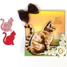 Животное кошка металлические Вырубные штампы для изготовления