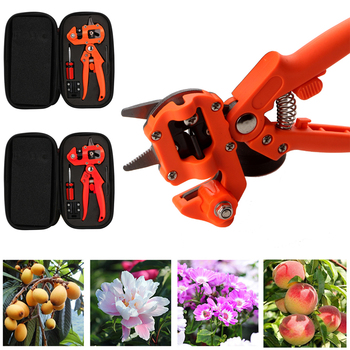 Grafting Pruner Garden Grafting Tools Professional Branch Cutter Secateur Pruning Plant Shears Boxes Fruit Tree Grafting Scissor branch cutter professional bonsai tools heavy duty concave cutter knob cutter plants pruner