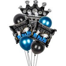1 conjunto 10 polegada espanhol feliz dia dos pais balões da folha de alumínio metal feliz dia hélio globos festa decoração presente