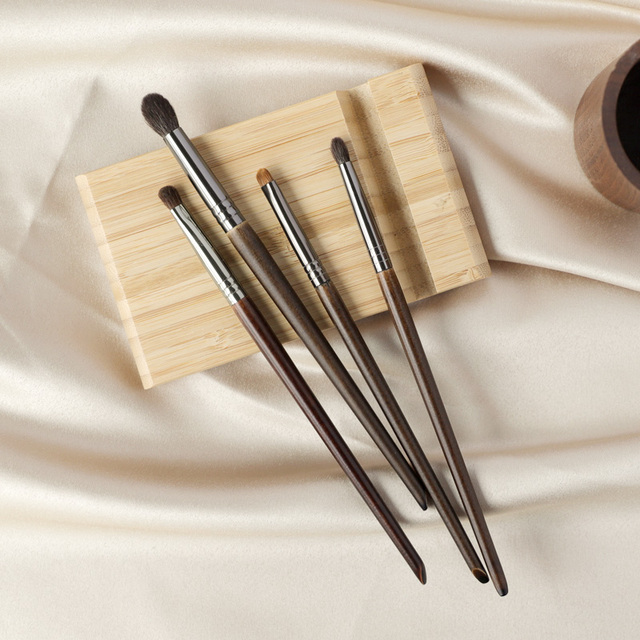 OVW Eyeshadow Brush Set kist' dlya teney Medium Blending Brush Small Precision Pointed Shader Tapered Smudge Makeup Brush Kit