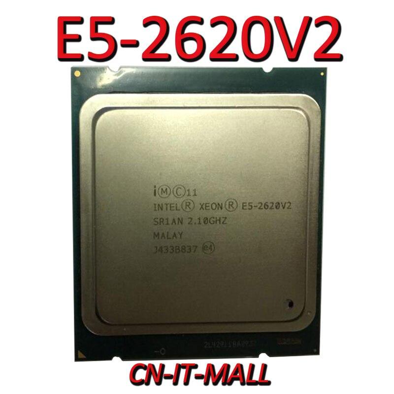 Intel Xeon E5-2620V2 CPU 2.1GHz 15MB Cache 6 Cores 12 Threads LGA2011 Processor