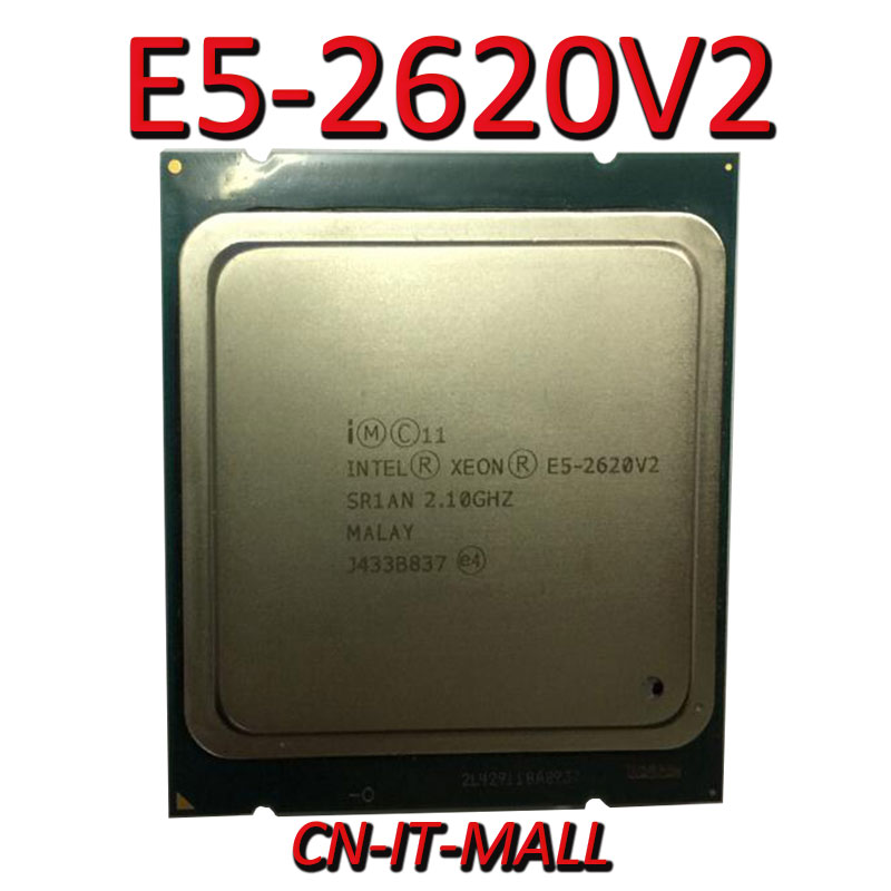 Intel <font><b>Xeon</b></font> <font><b>E5</b></font>-2620V2 CPU 2.1GHz 15MB Cache 6 Cores 12 Threads LGA2011 Processor image