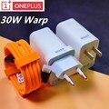 Oneplus 8 pro зарядное устройство 30 Вт Warp зарядное устройство EU/US Быстрый адаптер питания кабель Type-C 5 в 6A для Oneplus 8 pro 7t 7 Pro 6 6t 5t 3