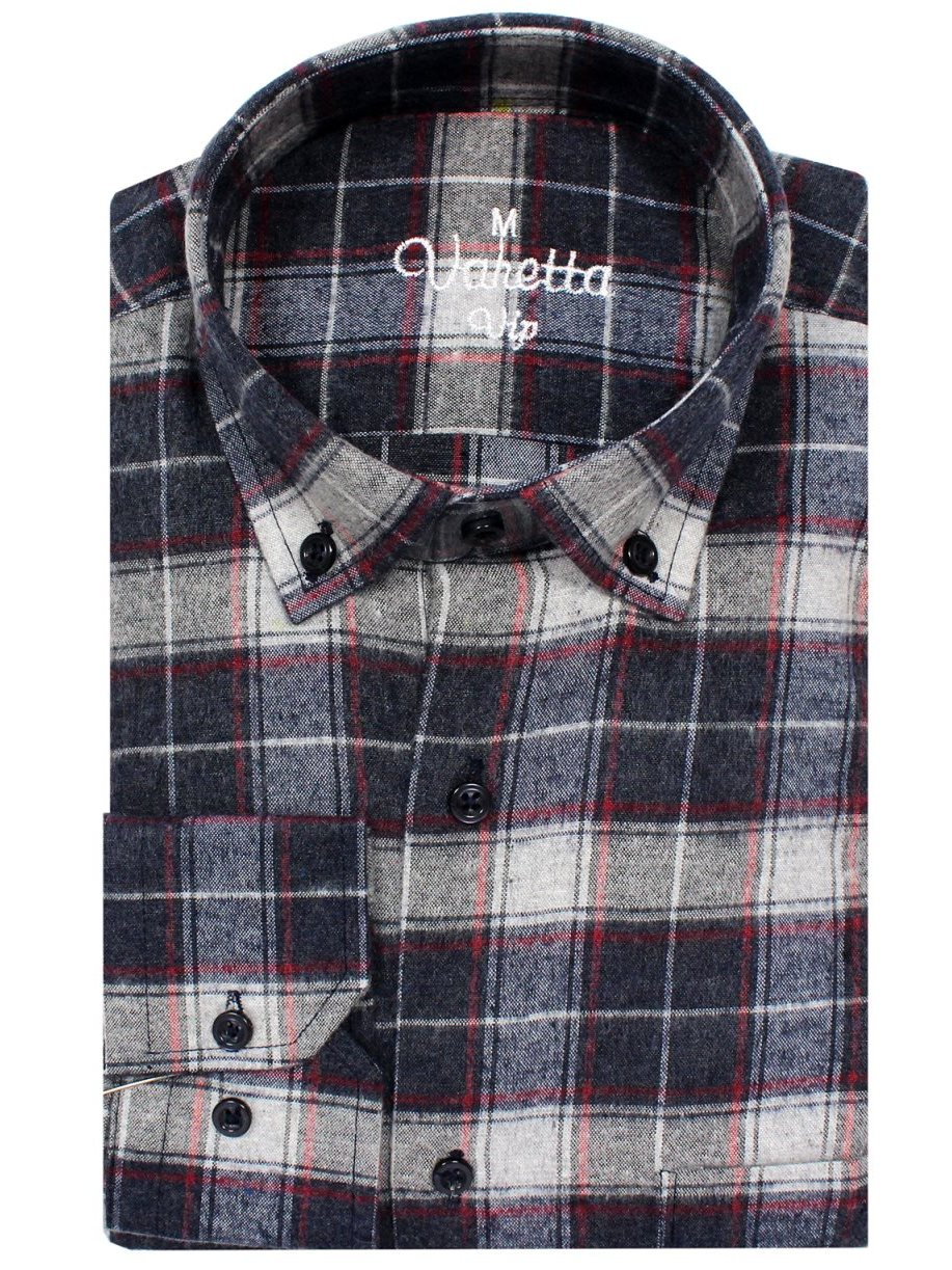 Varetta Winterweight Men's Shirts Long Sleeve High Quality Male 'S Casual Regular Fit Comfortable Tops Button Down Shirts In Turkey