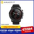 IN Lager Globale Version Neue Amazfit Stratos 3 Smart Uhr GPS 5ATM Bluetooth Musik Dual Modus 14 Tage Smartwatch Für android 2019