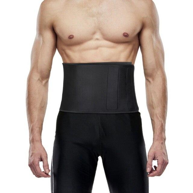 MenTrainer Waist Cincher Sweat Crazier Slimming Body Shaper Belt-Sport Girdle Silver Belt For Weight Lose Fitness 1