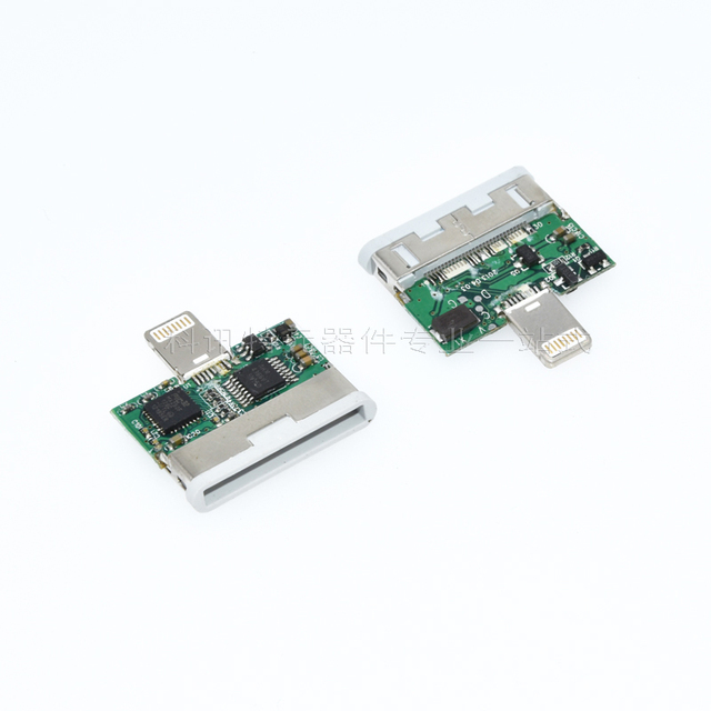 Lightning to 30pin Adapter Apple 4th to 5th Adapter Akm4366 Pic32M Diy