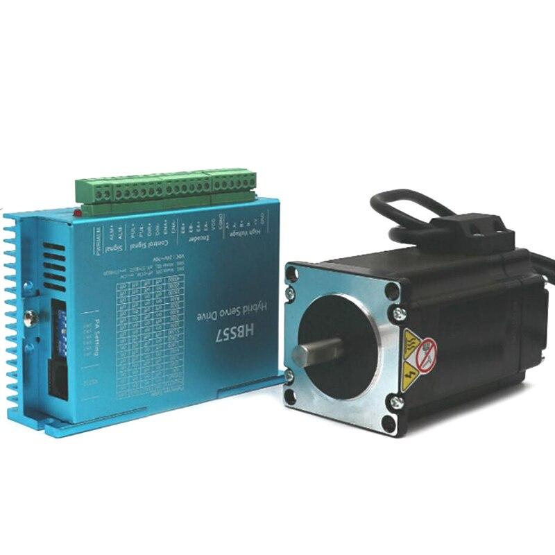 Hot HBS57 Stepper Motor Set 2.2N Servo Drive Encoder Constant Torque