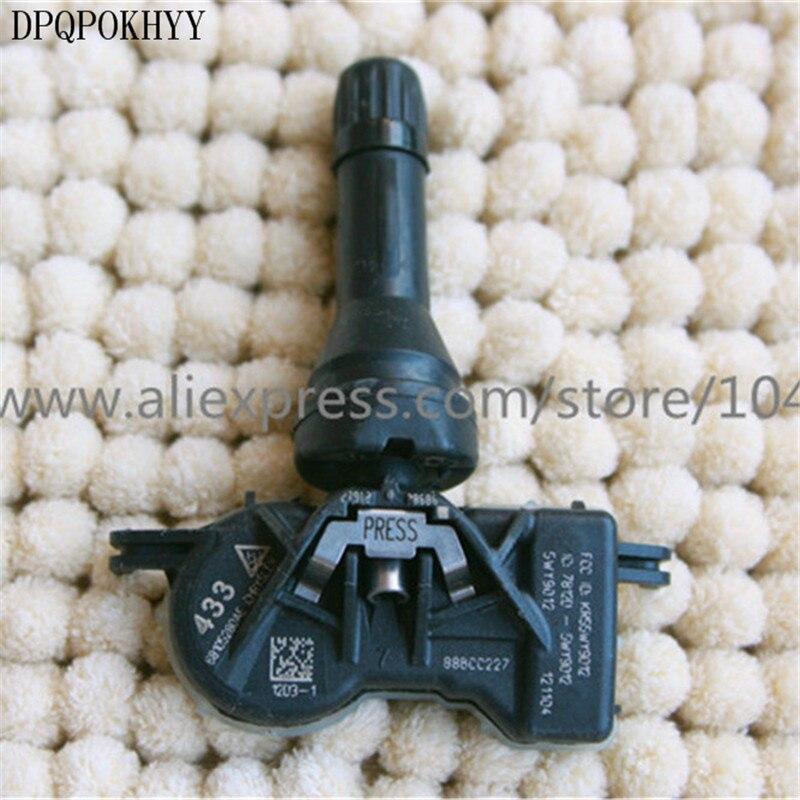 DPQPOKHYY OEM 68105280AE Per TPMS sensore di pressione dei pneumatici, sensore di monitoraggio degli pneumatici 433MHZ